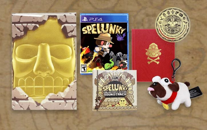 Spelunky Collector's Edition (PS4/Vita/PC) $45 via Fangamer. 2