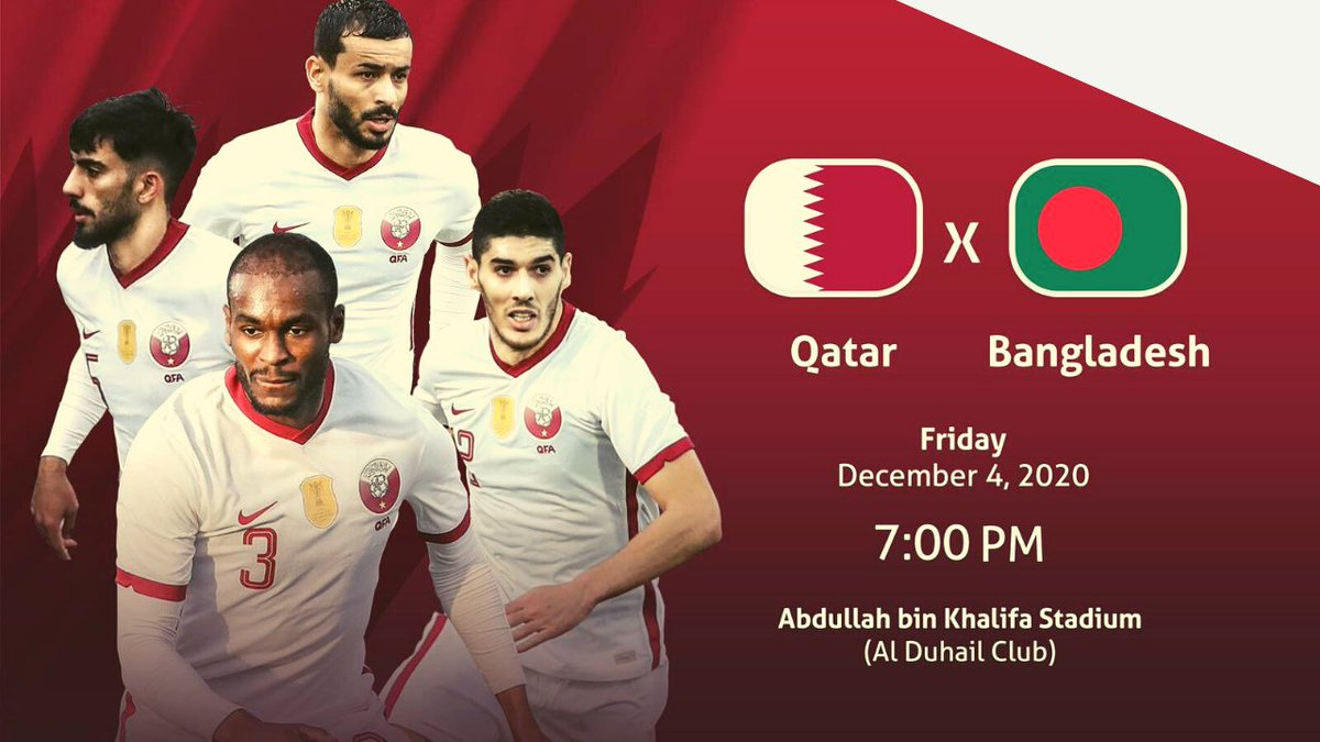#Qatar resume 2023 Asian Cup and World Cup qualifying campaign against #Bangladesh tomorrow in #Doha  👉 via @YouTube   #Dhaka #Football #Qatar2022 #FIFA @afcasiancup  #Sport #VisitQatar @roadto2022en