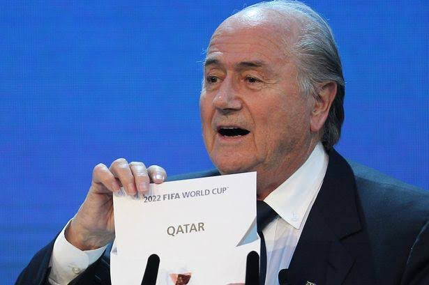 It is hard to believe that it's been 10 years since this took place. Qatar's road to 2022 has been scrutinised for the corruption that led to them being chosen as hosts to begin with. Blatter ended up leaving FIFA in disgrace after all.  #Football #FIFA #Qatar2022