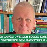 Image for the Tweet beginning: Prof. Harald #Lange befasst sich