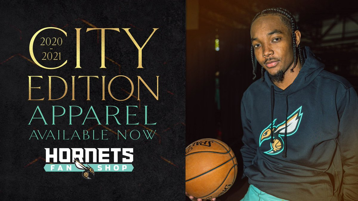 It's time to fill your closet with mint, gold & granite, Buzz City! ⏰ City Edition apparel is available NOW at the Fan Shop!  🔗: