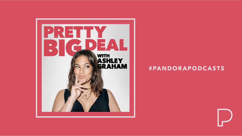 On @prettybigpod, join supermodel, style icon and body activist @ashleygraham as she sits down with some of her brilliant and inspiring friends about what makes them a Pretty Big Deal. Hear the latest episode with @KELLYROWLAND now:  #PandoraPodcasts