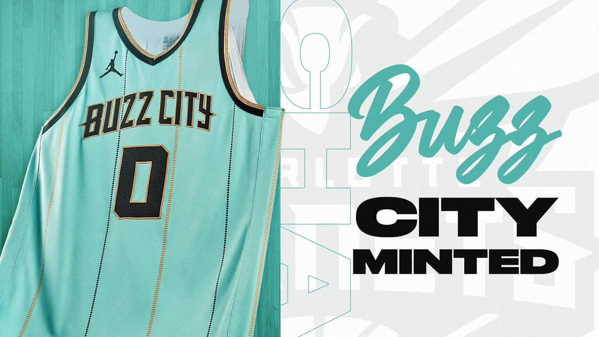 BUZZ CITY MINTED  Get your @hornets Nike NBA City Edition Jersey NOW ➡️️ https://t.co/KkHnBT870H  🗓️ NBA Season Starts Christmas Week with Games Beginning Tuesday, December 22. https://t.co/9tXrcgAICo
