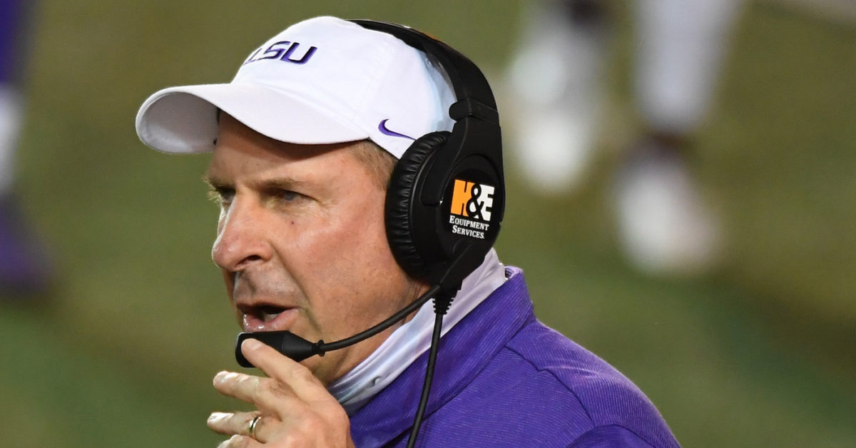 LSU DC Bo Pelini says Tigers didn't have personnel for switch to 4-3; Ed Orgeron disagrees https://t.co/cYmn7I4DeW https://t.co/GEnWkXPff4