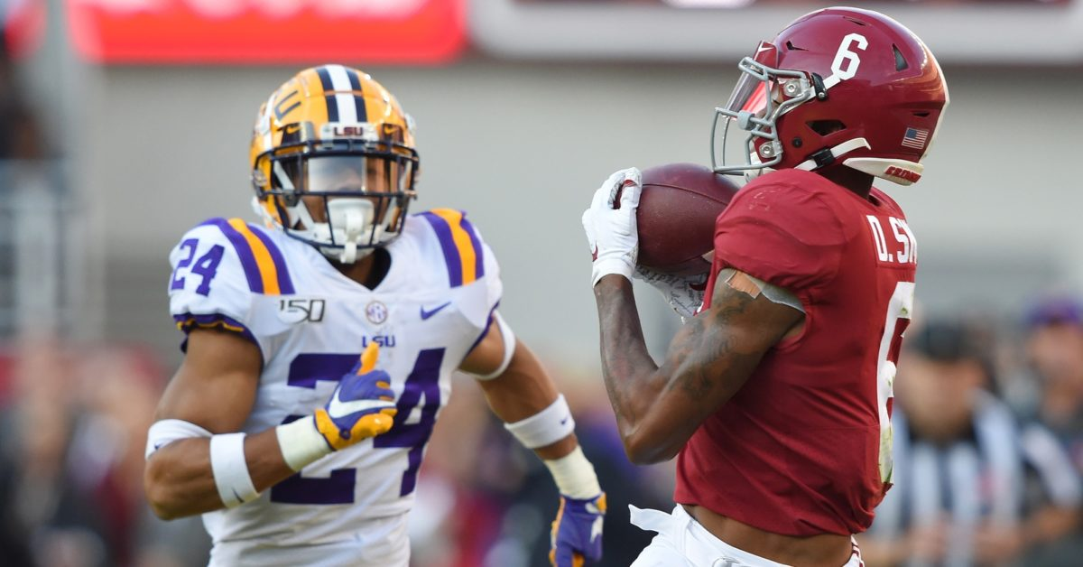 5 things I need to see from LSU against Alabama https://t.co/KSY9LsGkPL https://t.co/SC6EAbYfGq