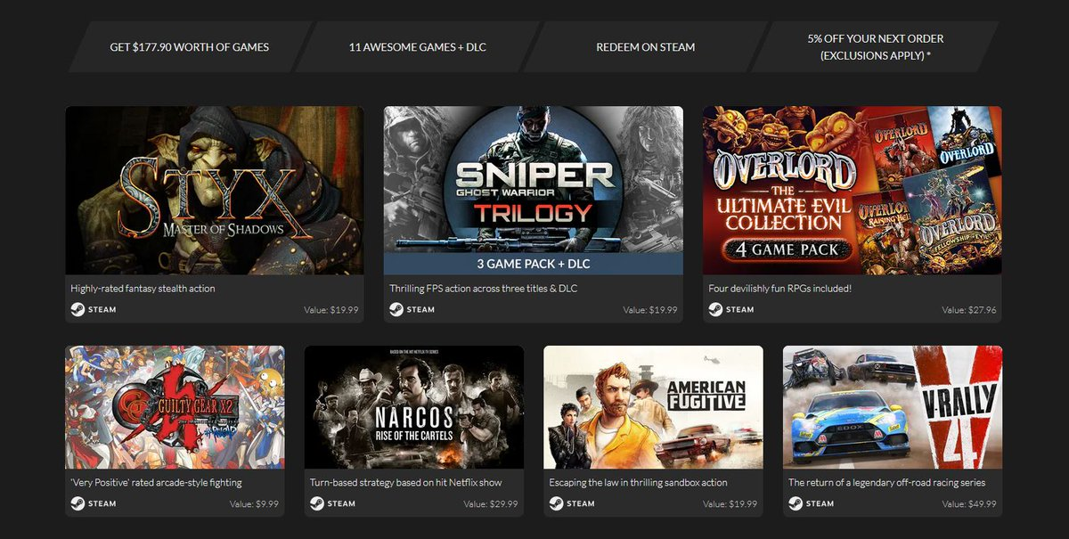 (PCDD) All Stars 13 Bundle $1.99 via Fanatical. Includes Guilty Gear X2 #Reload & More.  2