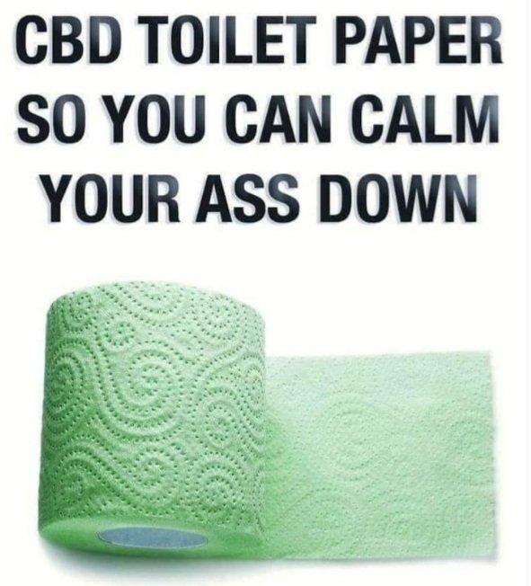 CBD TOILET PAPER FOR EVERYONE!!!  #ThursdayVibes  #ThursdayMood  #ThursdayMorning #ThursdayThoughts