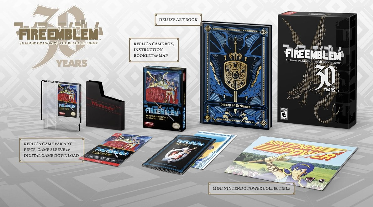 Fire Emblem 30th Anniversary (Switch) on the Nintendo Store: 2 $49.99 will sell out fast