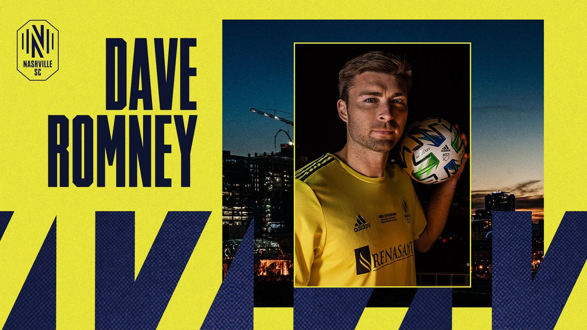 We played 2400 minutes of soccer this season.   @Dave_Romney12 played every one of them.  And he's about to play a lot more minutes after signing a contract extension with Nashville SC.   #EveryoneN