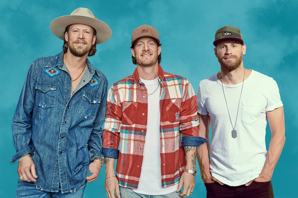".@ChaseRiceMusic teams up with @FLAGALine for the feel-good country track ""Drinkin' Beer. Talkin' God. Amen."" Hear it now:"