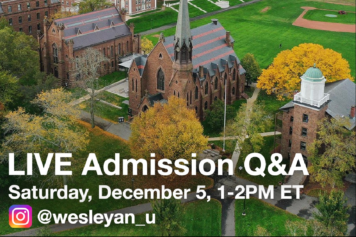 test Twitter Media - Our LIVE 🔴 admission Q&A will return this Saturday, December 5. Our students are eager to tell you more about Wes!   Register now to submit your questions early: https://t.co/iWehTlGKOw  Join us on Instagram at 1PM ET on Saturday: https://t.co/rudyO1C9Ki https://t.co/4LkLFL0tsv