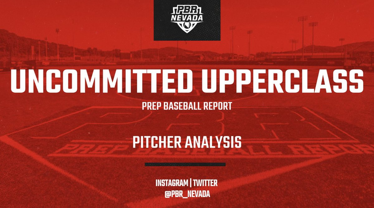 Uncommitted Upperclass: Pitcher Analysis  Finally, we dive into the Pitcher Analysis that featured Arbor View product, Justin Smith, who topped out at 88 mph and Rancho's 6-foot-5 right hander, Noah Tschopp, who ran it up to 87 mph #BeSeen  Analysis⬇️ https://t.co/HExS3Ua3aO https://t.co/R2noP2U6cb