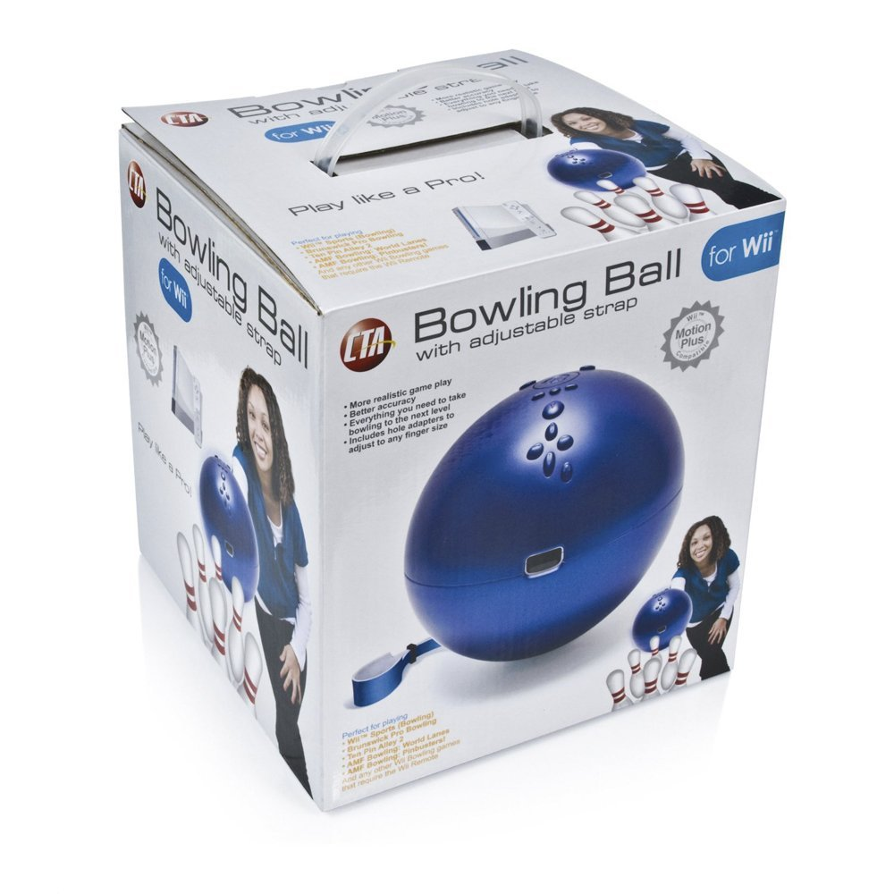 Wii Bowling Ball is $24.54 on Amazon: 2 shipped and sold by Amazon  Style: Bowling Ball