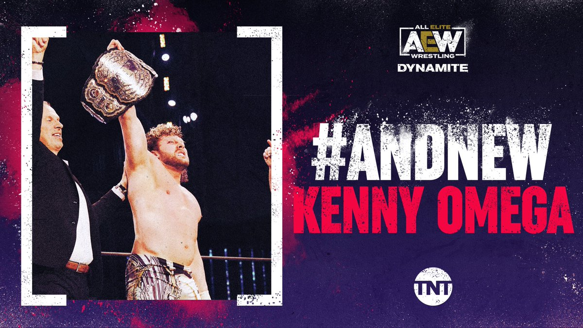 That was an ending no one saw coming 👀 #ANDNEW Kenny Omega is the AEW World Champion
