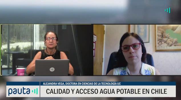 Calidad acceso del agua potable en Chile