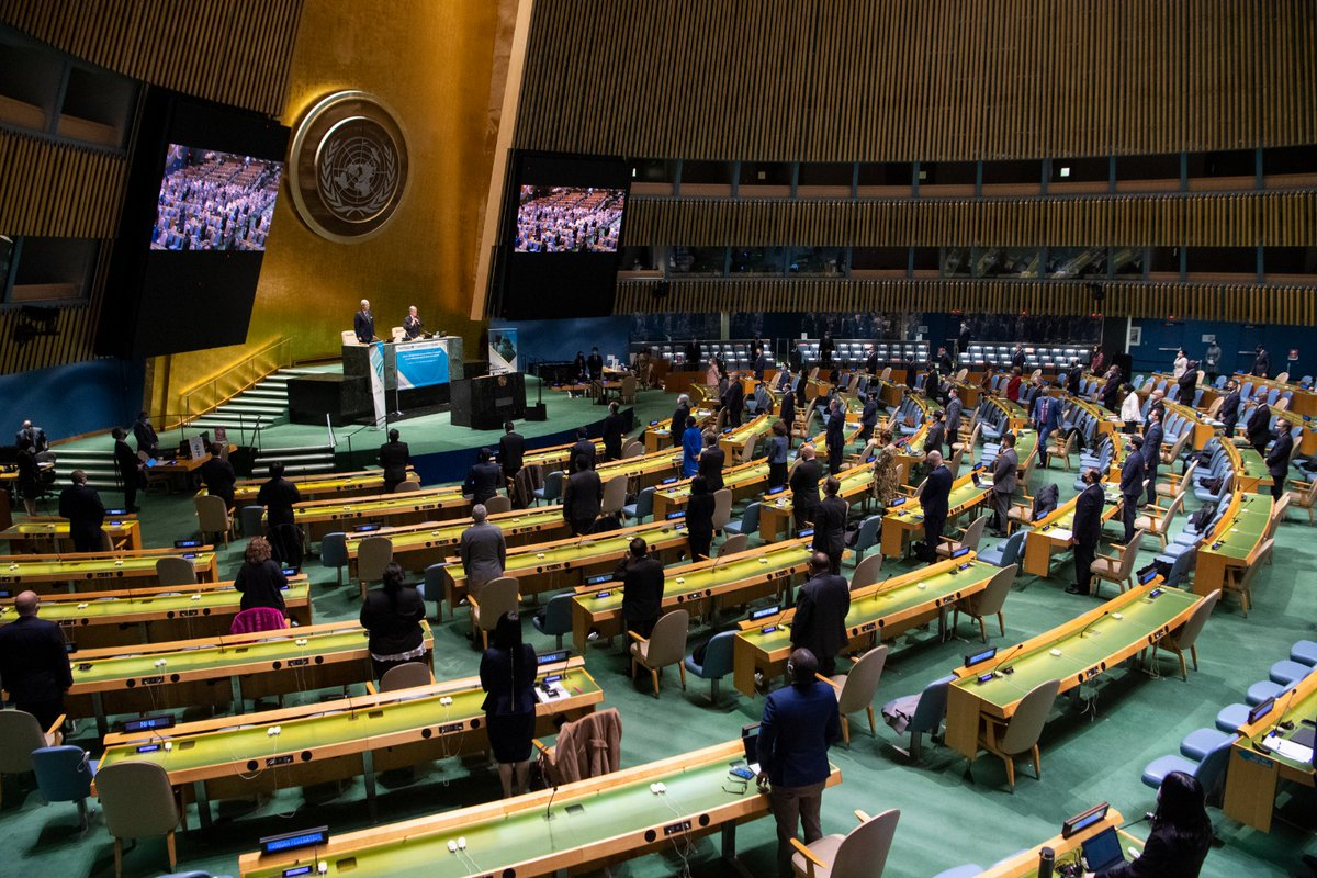 Countries came together on Thursday for a special #UNGA session on #COVID19.  World leaders reflected on how the UN can continue supporting the global response to the pandemic, while also sharing solutions & priorities for recovering better.