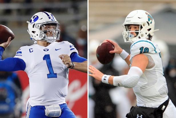 Cancel brunch, no. 13 BYU and no. 19 Coastal Carolina just agreed to a battle of unbeatens THIS SATURDAY. https://t.co/3oBnM2U9Hc https://t.co/V67UW5vp9p
