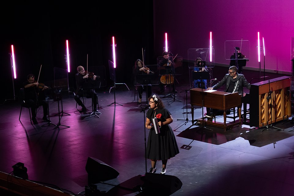 The #CSUN Honors String Quartet joined a few of the biggest names in Latin music to celebrate and perform the music of 10-time Grammy award-winning artist Linda Ronstadt in a televised special at @TheSorayaStage. https://t.co/C005Ct4Y6f https://t.co/7z3t7ELXfL