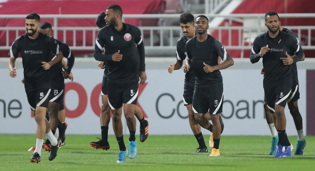 📸   The #Qatar national team has wrapped up preparations ahead of Friday's game against Bangladesh  #AsianQualifiers