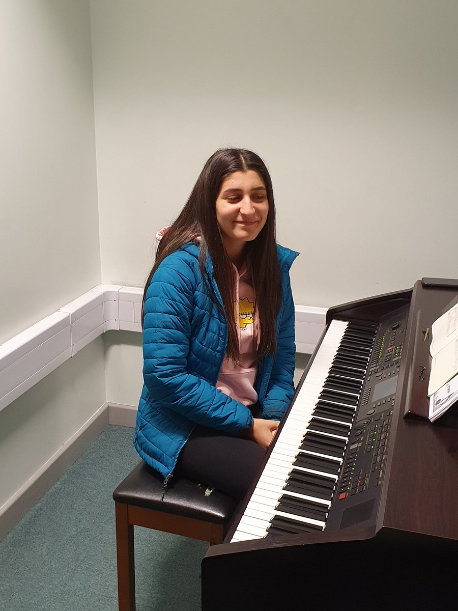 Welcome back to Sema  - it's great to see you back for your piano tuition #ThursdayThoughts #teachinginapandemic #musicschool #Welcome