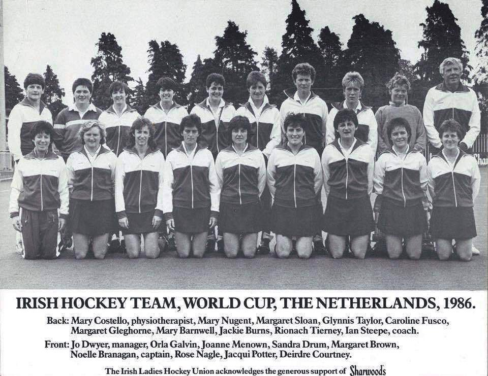 Today's #BlastFromThePast brings us back to 1986 which was the first time ever Ireland competed in the World Cup ☘️  The tournament took place in the Netherlands where Ireland finished 12th. A few big names in the squad, can you name which clubs they played for?👇🏼  #TBT #WorldCup