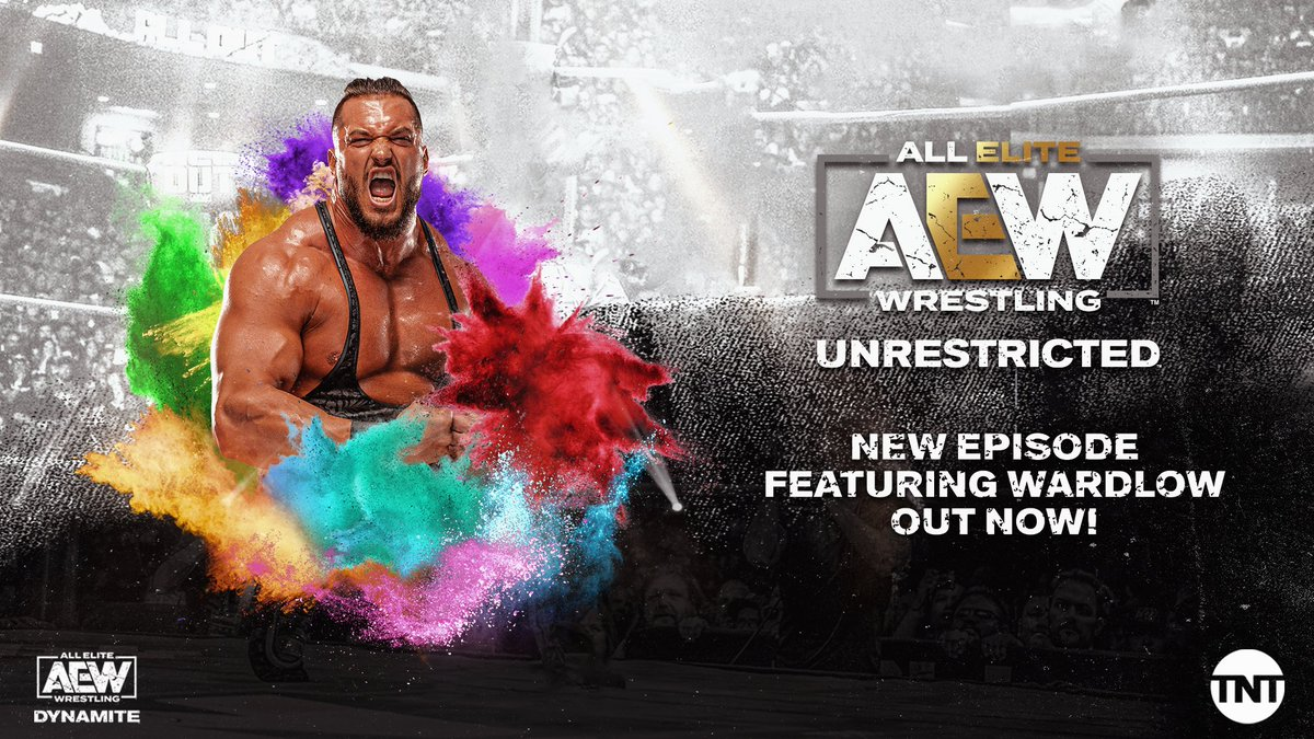 A new episode of the #AEWUnrestricted Podcast featuring @RealWardlow is out NOW! Listen now link.chtbl.com/AEW