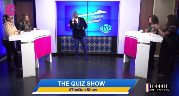 We have a special show for you tonight as the #Chatspot ladies compete on #TheQuizShow with @freddiebudaboss!  Catch @misjoycemaina @nanaowiti @My_Mwikali now on @switchtvkenya! #thursdayvibes