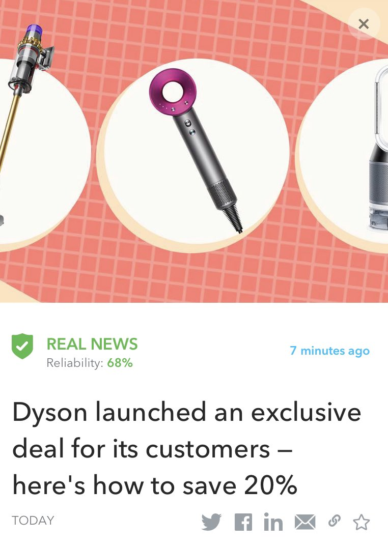 If you're a loyal Dyson customer, here's your chance to save on the highly-coveted Airwrap styler. Start your Christmas shopping!!!!☺️  Read more: https://t.co/cxDOXNztFt   #Dyson #gifts #savings https://t.co/h3ZSa3nzMc