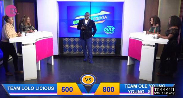 Which team are you dying with tonight?? Will @nanaowiti  and @misjoycemaina will maintain their lead? #TheQuizShow @freddiebudaboss @My_Mwikali