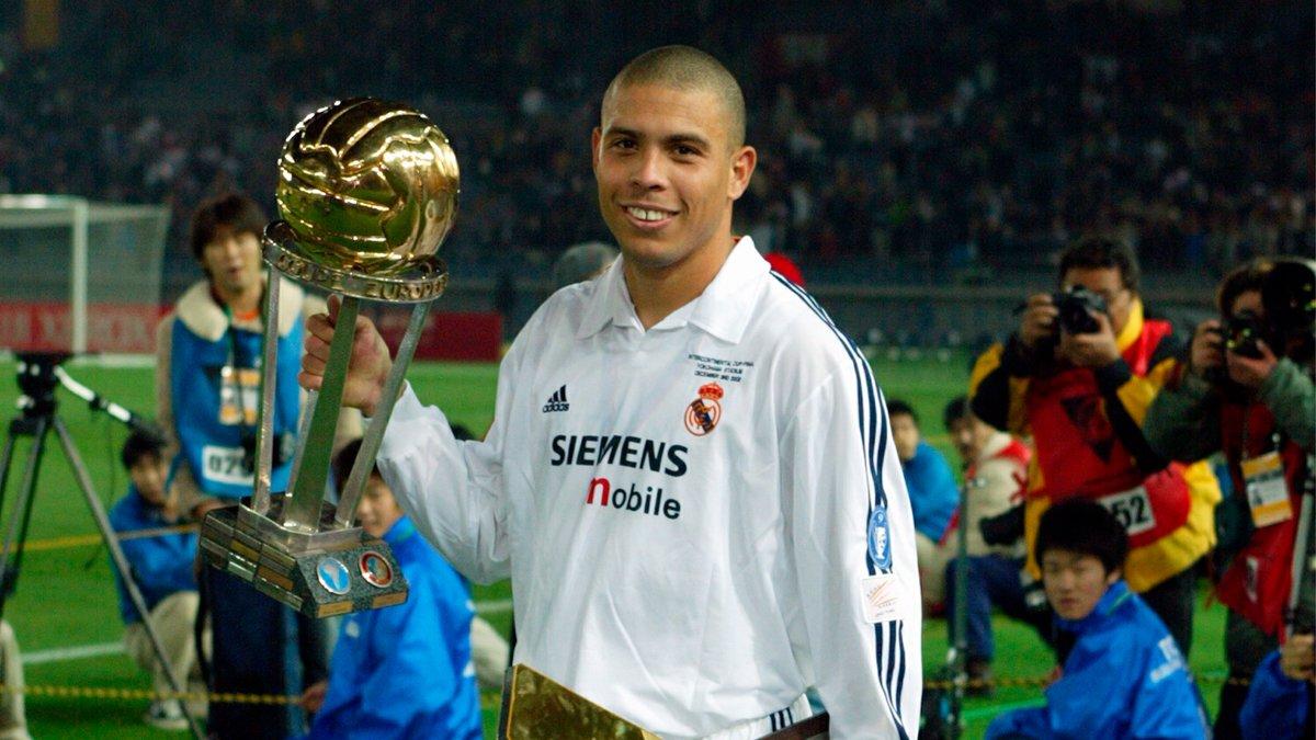 🗓🏆 ¡18 años de la tercera Copa Intercontinental! ⚽ ¡El 'Fenómeno' @Ronaldo jugó un papel decisivo en aquella final de Yokohama! #RMHistory | #HalaMadrid