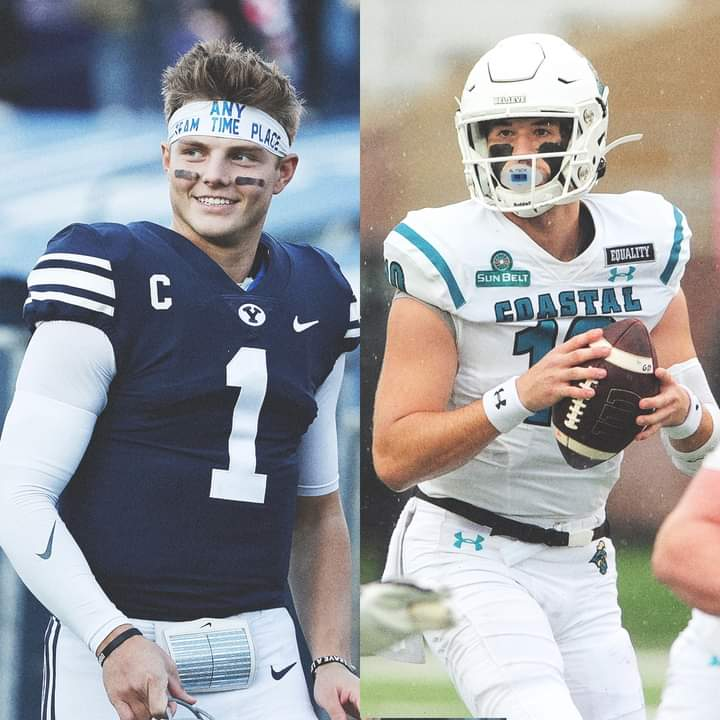 An agreement has been reached for No. 13 BYU Football to replace Liberty as No. 18 Coastal Carolina Chanticleers' opponent this Saturday after COVID-19 issues prevented the Flames from playing, sources told Chris Low.   A battle between two 9-0 teams 👀 👍👍👍👍👍👍👍👍👍👍👍👍👍 https://t.co/LyKMCHnGaN
