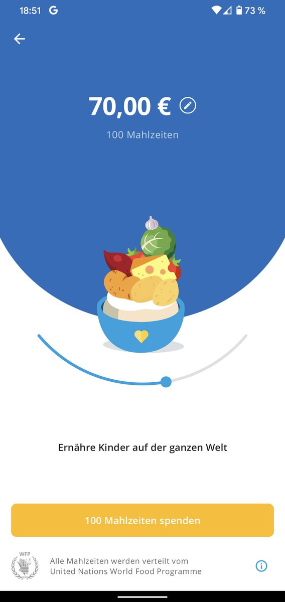 "To celebrate that  was awarded @Google's ""Best Apps of 2020"" in the category ""Apps for Good"", I just donated 100 Meals!   Help #ShareTheMeal and help in the fight for #ZeroHunger!   Congrats to @BKowatsch, @WFPInnovation, @ShareTheMealorg!"