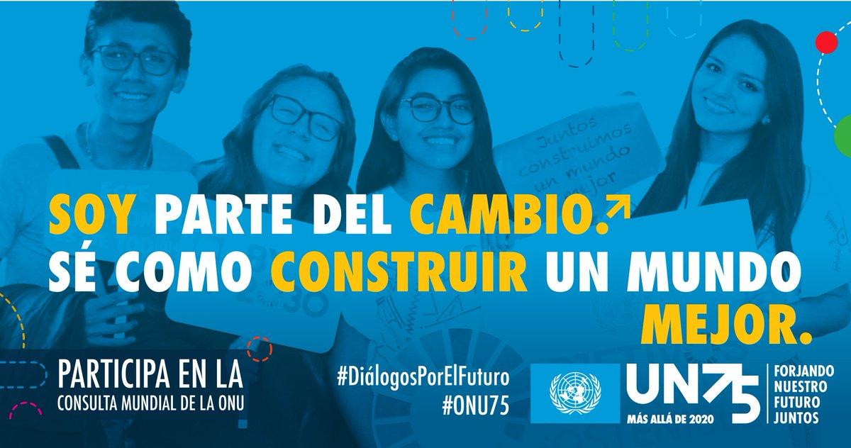 ¿Cuáles son los problemas más importantes que hay que resolver para lograr una sociedad más justa?   Participa en esta encuesta, te tomará un minuto:  #ONU75 #UN75