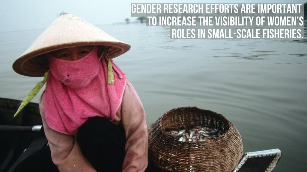 "Data on women in #SmallScalefFsheries are often excluded in research and policy as #fisheries is considered a male-dominated sector. Learn how we're changing ""markedly sexist"" data w/ @FAO and @DukeU:  #WorldFisheriesDay #IlluminatingHiddenHarvests"