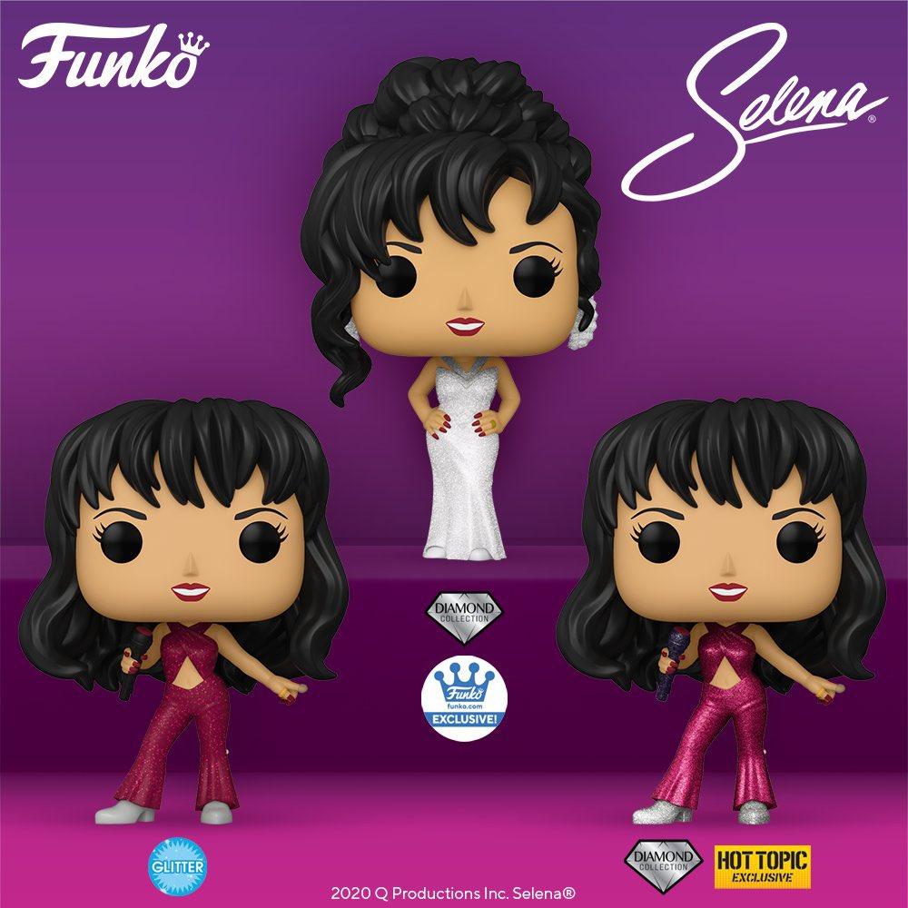 Coming soon: Pop! Rocks: Selena. Preorder Now! .