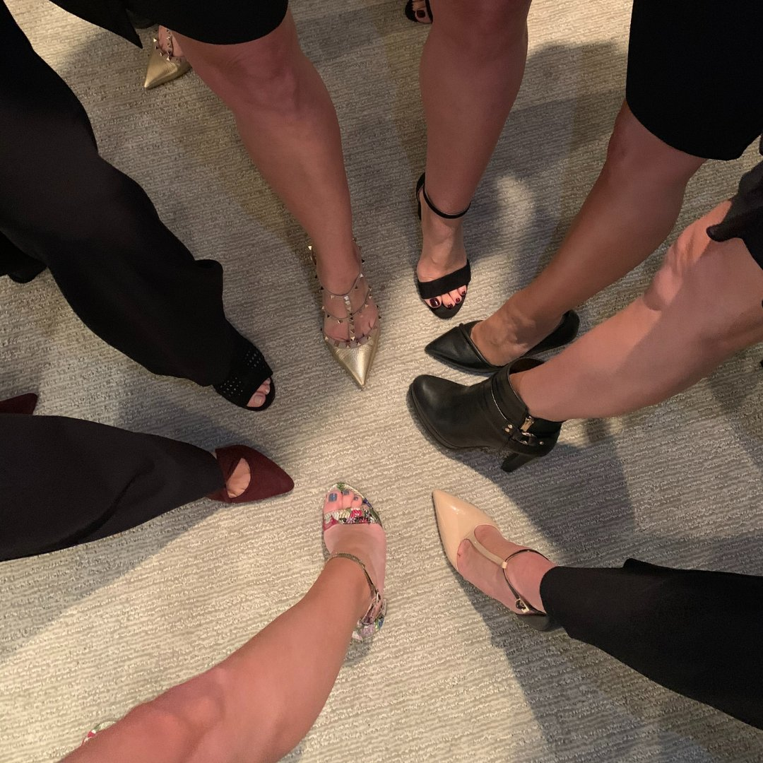 The ladies of #TeamBlake are fierce... and they've got the footwear to prove it! Nothing can get in their way when it comes to the concierge level service of #TheBlakePlan.