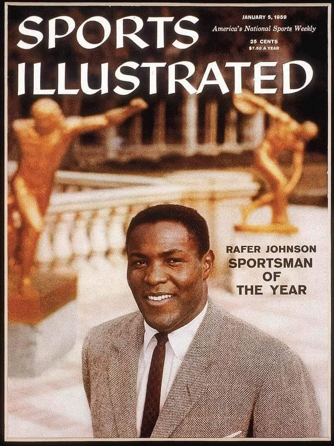 RIP Rafer Johnson. #RaferJohnson #RIP #sportsillustrated #Olympics https://t.co/skhvvMqdBT