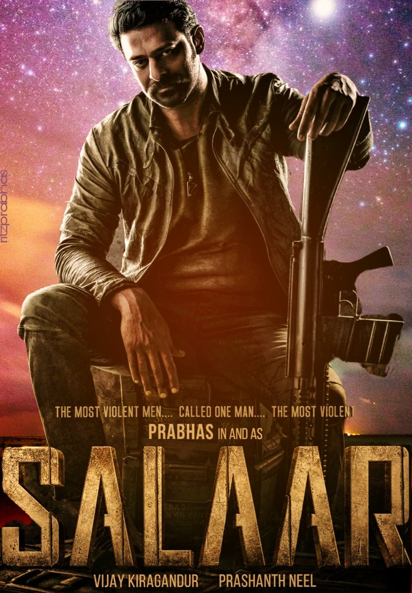 A small Try from My Side ....☺☺  #Prabhas #SALAAR  .🔥
