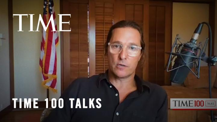"""""""I think what this year's election did is expose what we all kind of didn't really want to say out loud.""""  Matthew @McConaughey on what divides us and how we can come together #TIME100Talks https://t.co/TdHLUyYdri"""