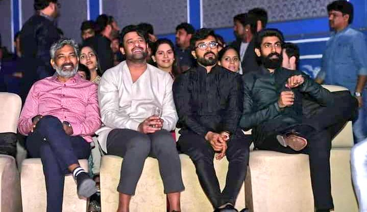 Those Two Friends who respect to everyone & Be humble Every time ❤️ #RamCharan #Prabhas ❤️