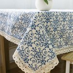 Image for the Tweet beginning: Decorative Dustproof Patterned Cotton Tablecloth