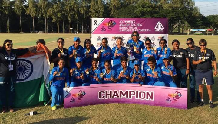 #OnThisDate 2016 #INDvsPAk  #TeamIndia won sixth Women's #AsiaCup title.