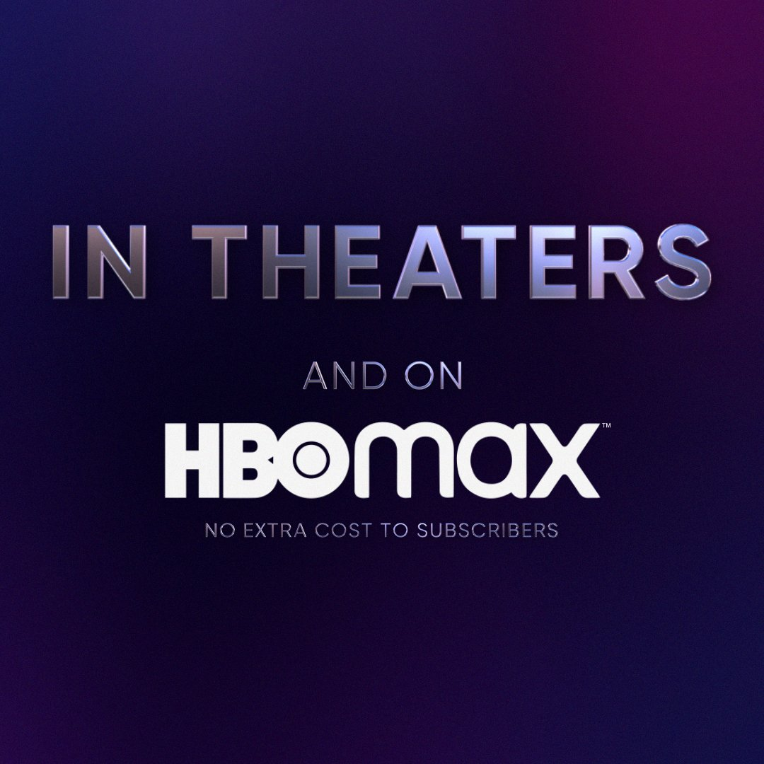 I got you something ✨nice✨ this year: 🎁 The biggest movie premieres 🎁 In theaters and on HBO Max the exact same day 🎁 Beginning December 25 with #WonderWoman1984 #HBOMax #WBPictures