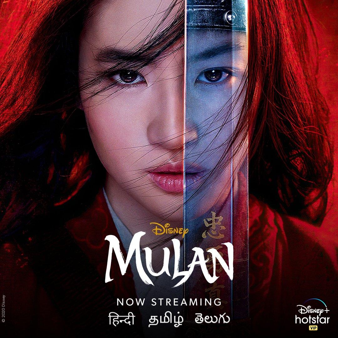 Warrior. Protector. Soldier. Watch Mulan in Hindi, Tamil and Telugu, now streaming! . . #Mulan #NowStreaming