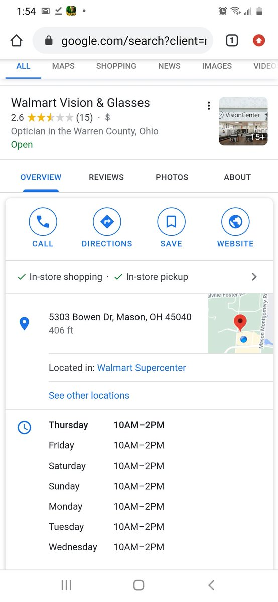 """@Android @Google How about you fix our incorrect hours listed instead of harassing the Manager for not having direct access to whatever entity """"owns"""" the email that controls the listing? We're losing business! We are 9am-7pm M-Sa, 11am-4pm Sunday. No resolution with a phone call. Fix it!"""
