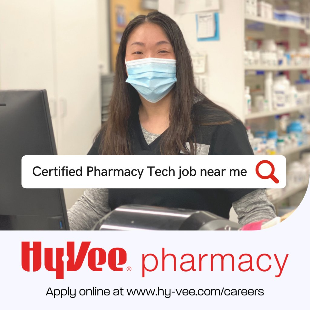 Are you in search of a Certified Pharmacy Technician position in the Des Moines area? We're looking for individuals to support stores throughout the Des Moines metro both FT and PT. Apply online at https://t.co/iZR2SHhOIQ and select Ankeny #1 as the location. https://t.co/v5fGvVtiP9