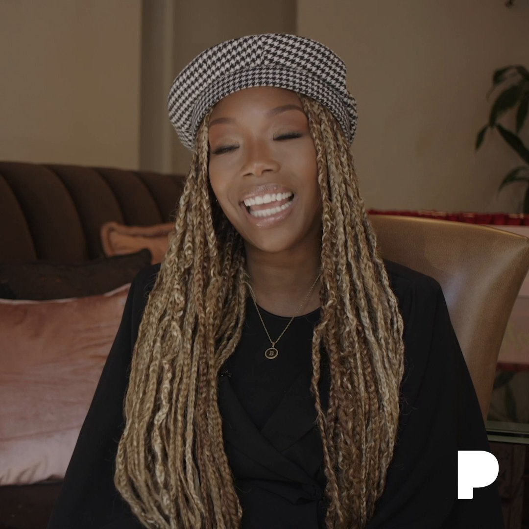 Wait, what happened? 😮 🙌 @4everBrandy reminisces about one of her favorite memories with her childhood inspiration Whitney Houston from our #PandoraLive Sounds of Soul event. Watch the full story at