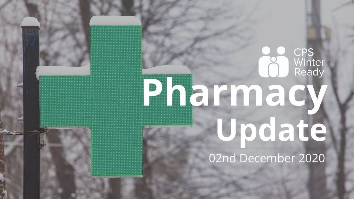 Matt Barclay is joined by Professor Harry McQuillan to discuss their thoughts on the financial recognition for pharmacy team members, as well as discussing the latest developments concerning yesterday's announcement of the UK's vaccine approval. https://t.co/OgAAuPYv1I https://t.co/lPEHjfyuSc