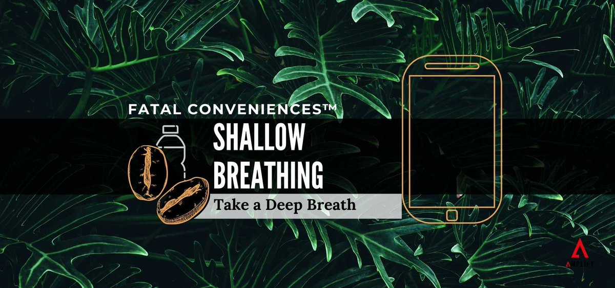 Are you a shallow breather or a diaphragmatic breather? 🌬️  Don't know the difference? You definitely need to check out this Fatal Conveniences™ segment. OUT NOW!