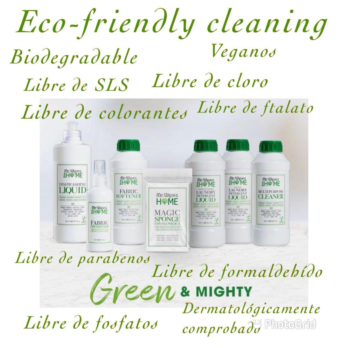 Para ti, que utilizas productos eco- amigables!! #Vegan #biodegradable #ecofriendly #farmasi #cleaning https://t.co/Id6dIdKqvF